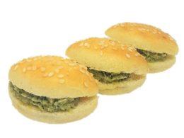 Mini Navette Garnies Aux Courgettes Grillées