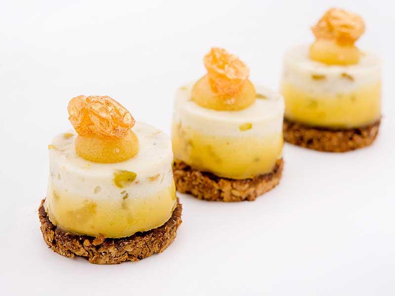 Bouchon de Roquefort et raisin d'Or