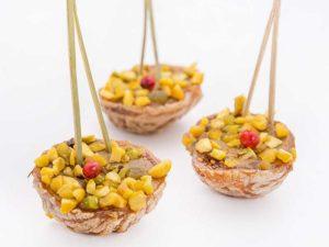 Figues Farcies au Foie Gras et éclats de pistache
