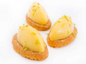 Sablé Breton et crème de Citron