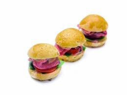 Roast beef burger